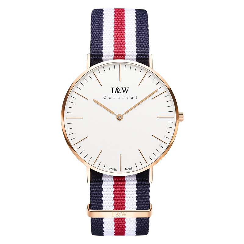 I&W Fashion Quartz Watch (Nylon)